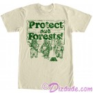 Star Wars Ewok Greenies Adult T-Shirt (Tshirt, T shirt or Tee) © Dizdude.com