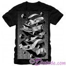 Star Wars MC Escher Style Darth Vader Adult T-Shirt (Tshirt, T shirt or Tee) © Dizdude.com