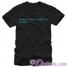 Star Wars Opening Crawl Adult T-Shirt (Tshirt, T shirt or Tee) © Dizdude.com