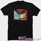 Star Wars Periodic Table Adult T-Shirt (Tshirt, T shirt or Tee) © Dizdude.com