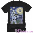 Star Wars Stormy Night Adult T-Shirt (Tshirt, T shirt or Tee) © Dizdude.com
