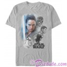 Star Wars: The Last Jedi Real Heroes Adult T-Shirt (Tshirt, T shirt or Tee) © Dizdude.com