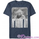 Star Wars Yoda - Words Of Wisdom Adult T-Shirt (Tshirt, T shirt or Tee) © Dizdude.com