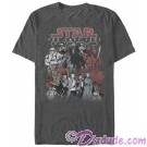Star Wars: The Last Jedi Character Group Picture Adult T-Shirt (T-Shirt, Tshirt, T shirt or Tee) © Dizdude.com