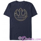 Star Wars: The Last Jedi The Rebel Alliance Starbird Adult T-Shirt (Tshirt, T shirt or Tee) © Dizdude.com