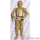 Gold CZ Protocol Droid from Disney Star Wars Build-A-Droid Factory © Dizdude.com