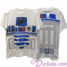 Disney Star Wars: R2-D2 Adult T-Shirt (Tshirt, T shirt or Tee) Printed Front & Back © Dizdude.com