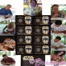 All 8 Star Wars Weekends 2003 Nickel Silver coins and Autographers ~ © DIZDUDE.com