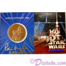 Star Wars Weekends 2004 Bronze Coin LE1000 Numbered 0351 front © Dizdude.com