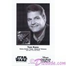Tom Kane the voice of Yoda & Admiral Yularen Presigned Official Star Wars Weekends 2011 Celebrity Collector Photo © Dizdude.com