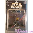 Official Disney Star Wars Weekend 2012 Donald Duck as Savage Opress Action Figure © Dizdude.com