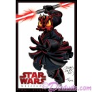 Disney artist double autographed Star Wars Weekends 2012 event logo Donald Darth Maul poster © Dizdude.com