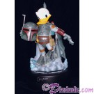 Autographed by Jeremy Bulloch (Boba Fett) Disney Star Wars Weekends Donald Duck as Boba Fett Medium Big Fig with pin LE 1977 © Dizdude.com