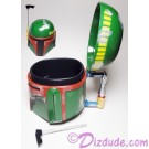Boba Fett Plastic Mug (Stein) With Flip Top Lid - Disney Star Wars Weekends 2015 © Dizdude.com