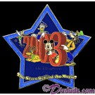 Walt Disney World Cast Member Exclusive - Stars Behind the Magic 2003 Pin © Dizdude.com