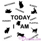 Today I Am T-Shirt or Tank Top (Tshirt, T shirt or Tee) © HIPPIEWORKS