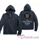 The Hollywood Tower Hotel Adult Logo Zip Hoodie - Disney Hollywood Studios Twilight Zone ~ Tower of Terror Ride