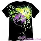 Disney Twilight Zone Tower Of Terror Glow In The Dark Lightning Bolt Adult T-shirt (Tee, Tshirt or T shirt)