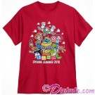 Disney's Toy Story Land Character Adult T-Shirt (Tee, Tshirt or T shirt)