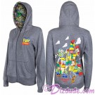 Disney's Toy Story Land - Ladies Character Zip Hoodie