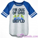 Disney's Toy Story Land Alien - I'm Out Of This World Youth Raglan T-Shirt (Tee, Tshirt or T shirt)