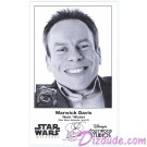 Warwick Davis who played The Ewok Wicket W. Warrick Presigned Official Star Wars Weekends 2013 Celebrity Collector Photo © Dizdude.com