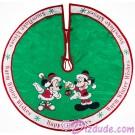 Disney Mickey And Minnie Holiday Christmas Tree Skirt © Dizdude.com