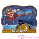 Disney Turn of the Century Mickey and Minnie Christmas Countdown Calendar © Dizdude.com