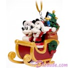 Disney Turn of the Century 3D Sleigh Christmas Ornament © Dizdude.com