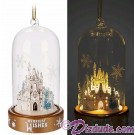 Disney Turn of the Century Light Up Dome Christmas Ornament