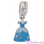 "Disney Pandora ""Cinderella's Dress"" Sterling Silver Charm"