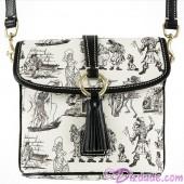 Dooney & Bourke Pirates of the Caribbean Crossbody Letter Carrier Handbag - Disney World Exclusive © Dizdude.com