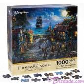 Disney's Pirates of the Caribbean: The Curse of the Black Pearl Jigsaw Puzzle 1000 Piece by Thomas Kinkade © Dizdude.com
