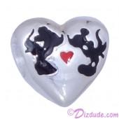 "Disney Pandora ""Mickey and Minnie Kiss"" Sterling Silver Charm"