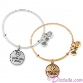 """""""I Love You - I Know"""" Antiqued Rafaelian Gold or Silver Finished Star Wars Adjustable Charm Bangle - by Alex & Ani"""