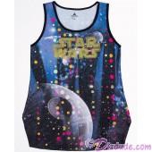 Death Star Disco Ball Adult Tank Top / Singlet - Disney's Star Wars © Dizdude.com