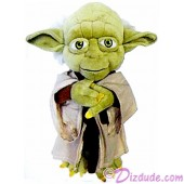 Star Wars Jedi Master Yoda Plush ~ Disney Star Wars Weekends 2015 © Dizdude.com