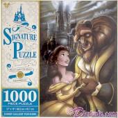 Beauty And The Beast 25th Anniversary 1000 Piece Jigsaw Puzzle- Disney Signature Puzzle © Dizdude.com