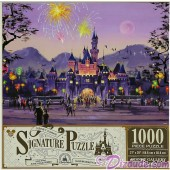 Sleeping Beauty Castle - Disneyland Hong Kong 1000 Piece Jigsaw Puzzle- Disney Signature Puzzle © Dizdude.com