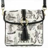 Dooney & Bourke Pirates of the Caribbean Crossbody Letter Carrier Handbag - Disney World Exclusive © Dizdude.com
