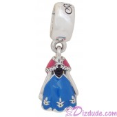 "Disney Pandora ""Anna's Dress"" Sterling Silver Charm"