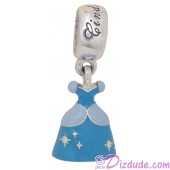 "Disney Pandora ""Cinderella's Dress"" Sterling Silver Charm"