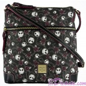 Dooney & Bourke - The Pumpkin King Crossbody Letter Carrier Handbag - The Nightmare Before Christmas © Dizdude.com