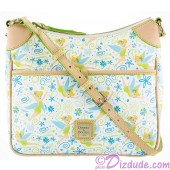 Dooney & Bourke Tinker Bell Floral Crossbody Letter Carrier Handbag - Disney World Exclusive © Dizdude.com