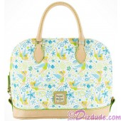 Dooney & Bourke Tinker Bell Floral Satchel Handbag - Disney World Exclusive © Dizdude.com