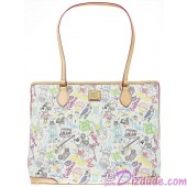 Disney Dooney & Bourke Walk in the Park Sketch Tote handbag © Dizdude.com