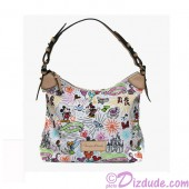 Dooney & Bourke Disney Park Exclusive Nylon Sketch Champsac / Satchel © Dizdude.com