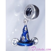 "Disney Pandora ""Mickey's Sorcerers Hat"" Sterling Silver Charm - Disney World Parks Exclusive"