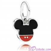 "Disney Pandora ""Mickey Icon"" Sterling Silver Charm"