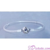 "Disney Pandora ""Wonderful World"" Sterling Silver Bracelet with Cinderella Castle clasp - Disney World Parks Exclusive"